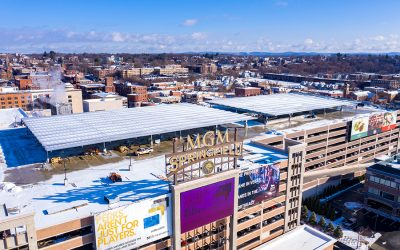 DSD Unveils a Breakthrough Solar Canopy for MGM Springfield