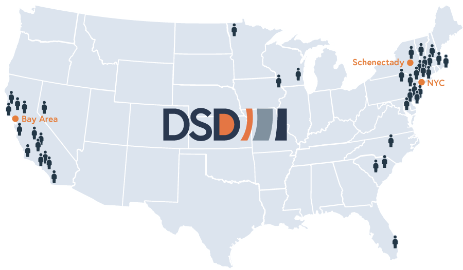 DSD Solar Energy Industry Jobs Map