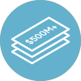 500M+ Project Funding