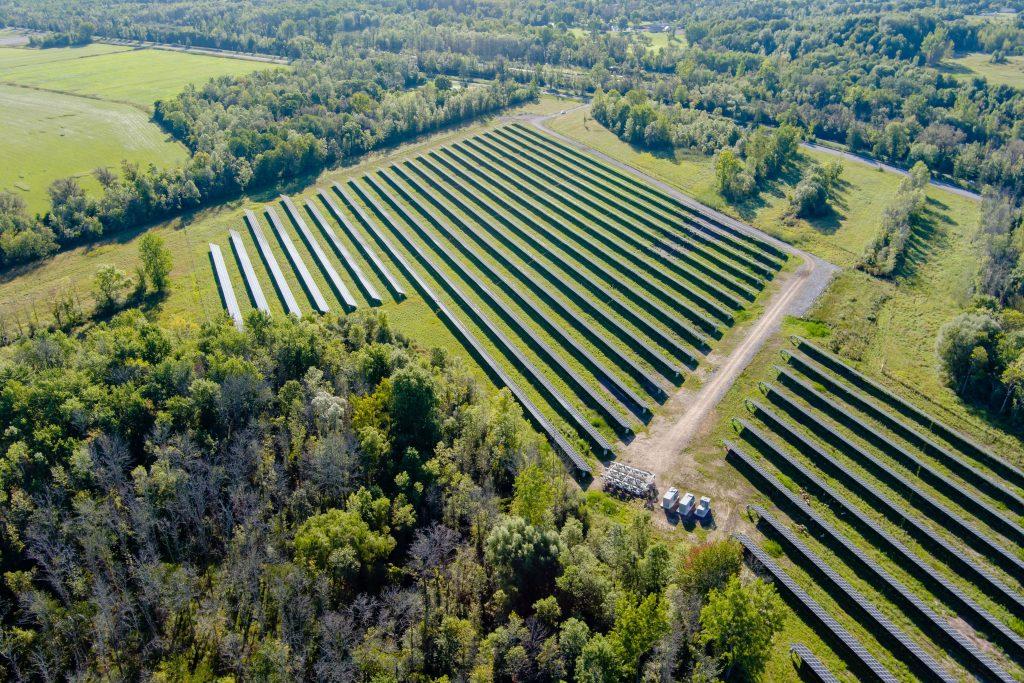 DSD solar energy Ground Mount NY